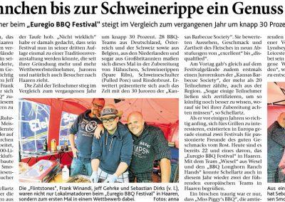 Aachener Zeitung (22.08.2016)